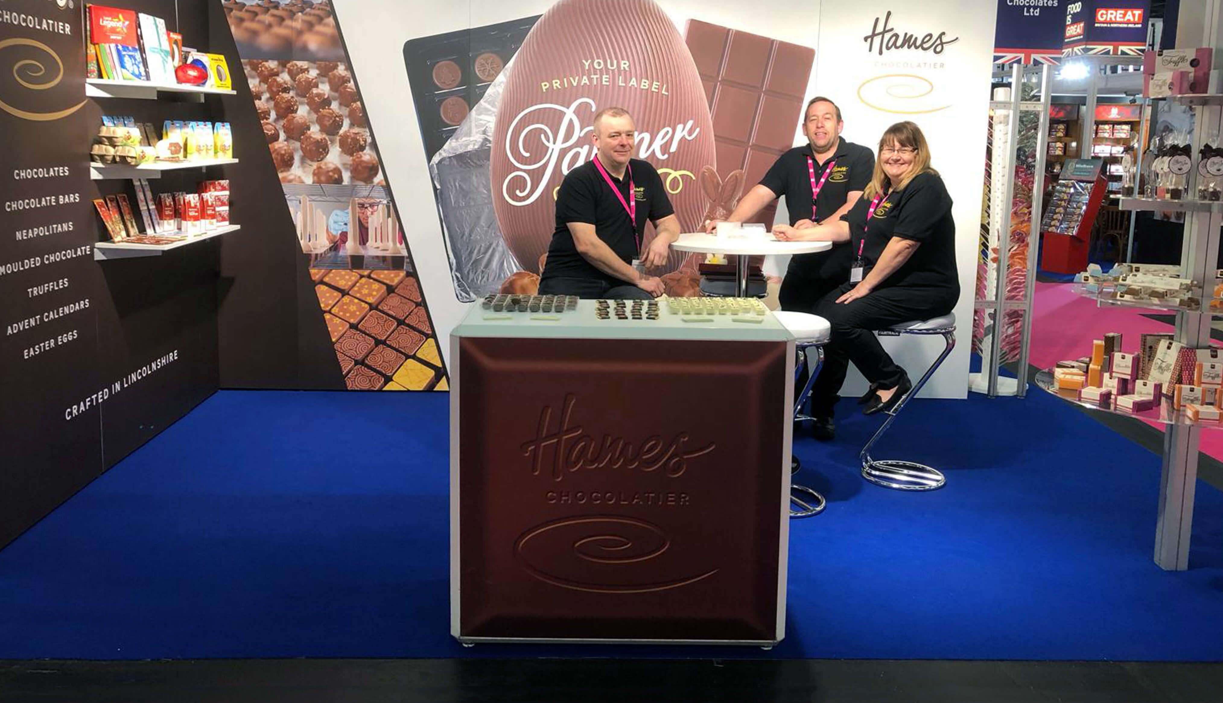 Hames Chocolates at ISM