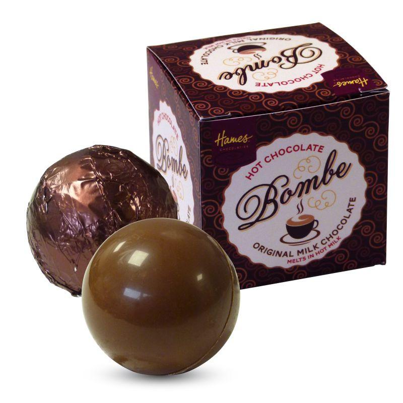 Hames Hot Chocolate Bombe - Original Milk Chocolate Version