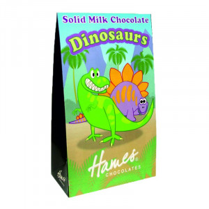 Novelty Solid Milk Chocolate Shapes