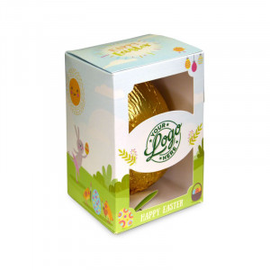 Chocolate 80g Easter Eggs In Personalised Presentation Boxes