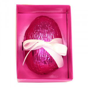 Luxury Chocolate Filled Egg in Personalised Presentation Boxes