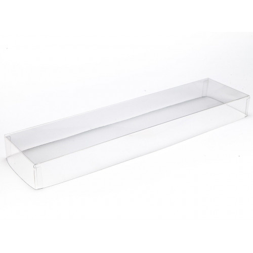 16 Clear Gift Box (Lid Only) 310mm  x 82mm  x 32mm Ready Assembled
