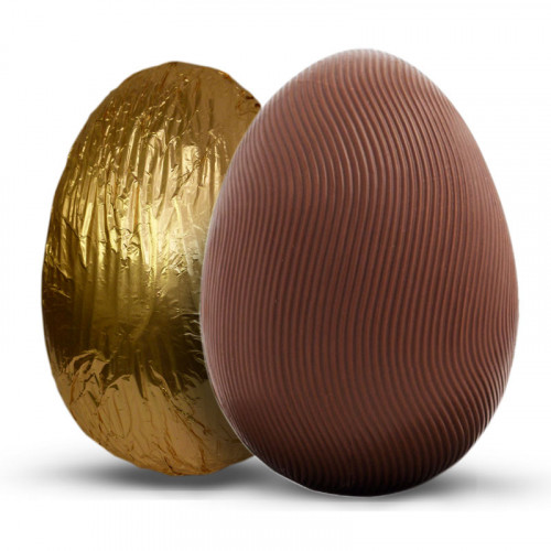 Promotional - 80g Milk Chocolate Easter Egg Wrapped in Gold Foil