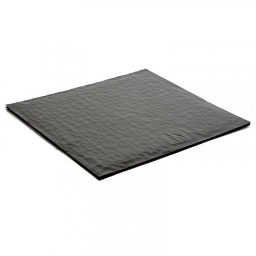 Black 25 Choc Cushion Pad fits Square Wibalin Box - 198mm x 183mm