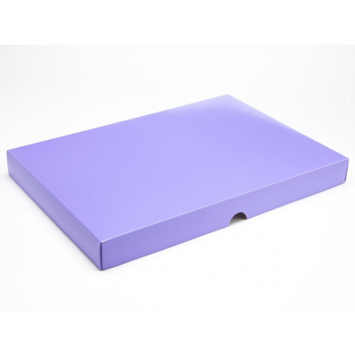 Fold-Up 48 Chocolate Box Lid Only 312mm x 217mm x 32mm inLilac