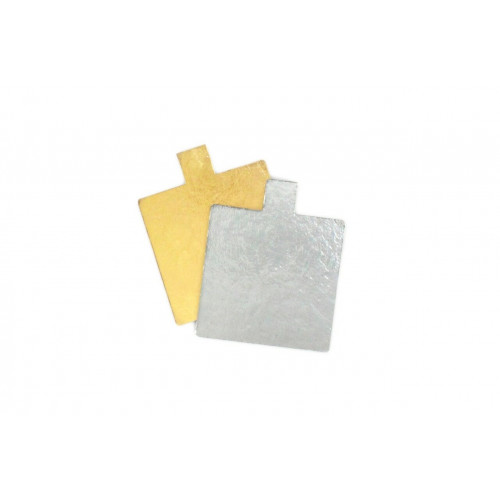 Square 55mm Patisserie Cake Board with Tab