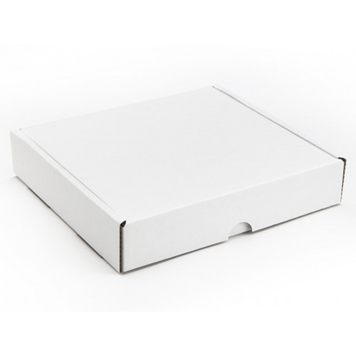 16 Choc Mail Out Box for Square Wibalin Box 172mm x 161mm x 35mm (Flat Packed) White