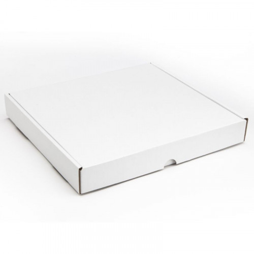 36 Choc Mail Out Box for Square Wibalin Box 246mm x 231mm x 35mm (Flat Packed) White