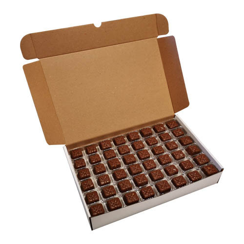 Loose Chocolates - Milk Chocolate Honeycomb Parcel  (96 Chocolates Per Box)