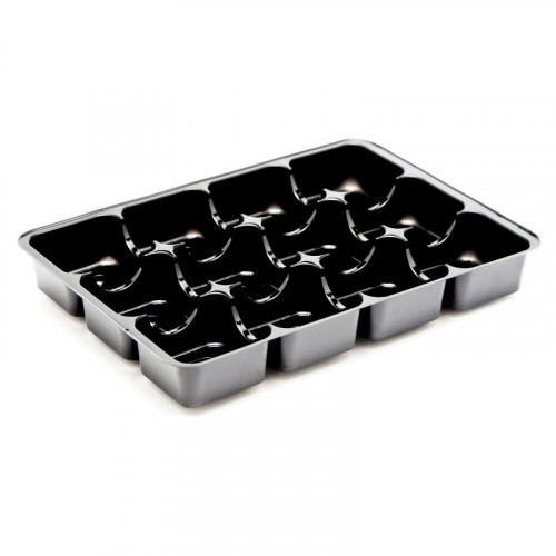 Black 8 Cav Insert Tray 159mm x 112mm