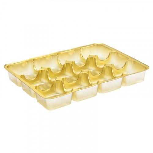 Gold 12 Cav Insert Tray 159mm x 112mm