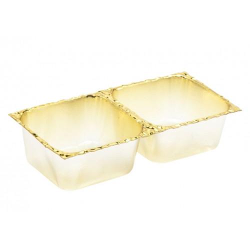 Gold 2 Choc Cav Insert Tray - 78mm x 41mm x 32mm