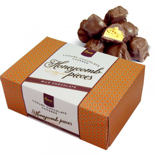 Hames - Luxury Box of Milk Chocolate Covered Honeycomb Pieces 150g  x Outer of 12