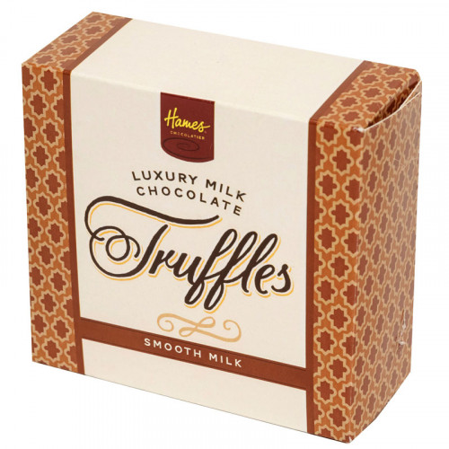 Hames - Luxury Boxes of 4 Smooth Milk Chocolate Truffles  x Outer of 18