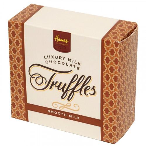 Hames - Luxury Box of 4 Smooth Milk Chocolate Truffles