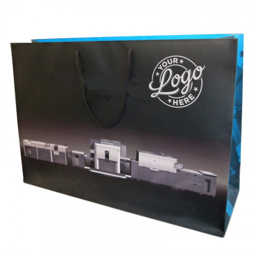 Branded Gift Bag - X Large Landscape  approx 525mm (H) x 345mm (W) x 160mm (D)