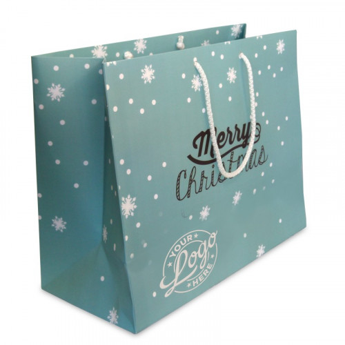 Branded Gift Bag - Medium Landscape approx 265mm (H) x 330mm (W) x 147mm (D)