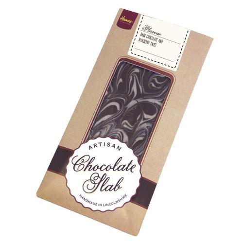 Artisan - Dark Chocolate Bar with a Blueberry Twist