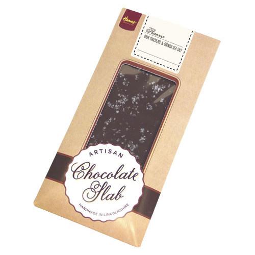 Artisan - Dark Chocolate Bar Topped with Cornish Sea Salt