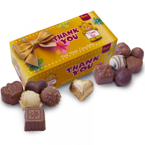 Sentiments Chocolate & Truffles Assortment Ballotin - Thank You