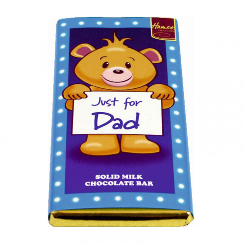 Sentiment - Personal 80g Milk Chocolate Bar - Dad  x Outer of 12