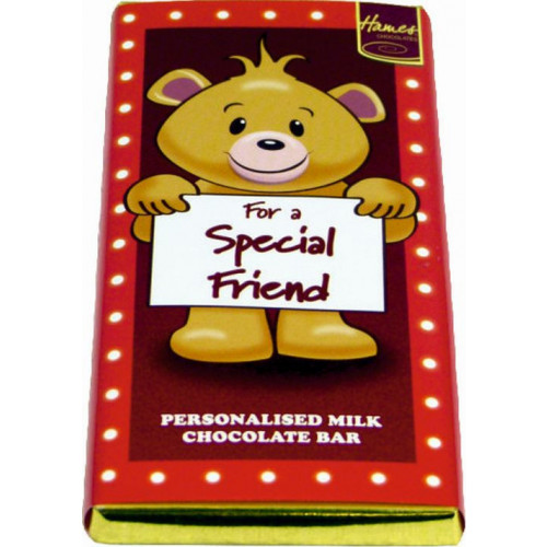 Sentiment - Personal 80g Milk Chocolate Bar - Special Friend  x Outer of 6