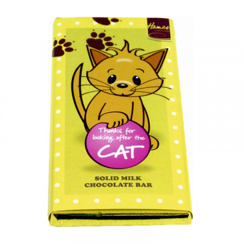 Sentiment - Personal 80g Milk Chocolate Bar - Cat x Outer 12