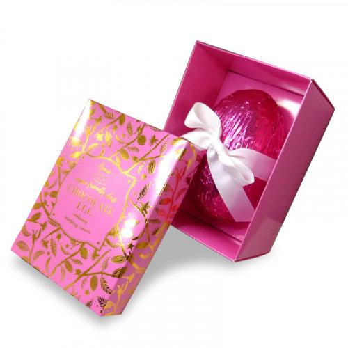 Hames Bronze Range - Luxury Vegan Friendly Dark Chocolate Egg containing Dark Raspberry Cremes 240g