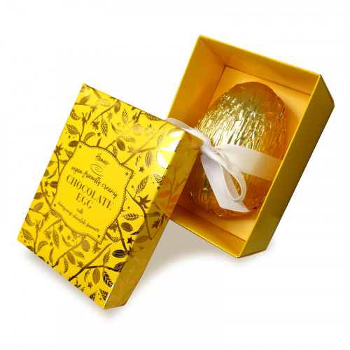 Hames Bronze Range - Luxury Vegan friendly Honeycomb and Creamy Mlk Chocolate Egg 240g