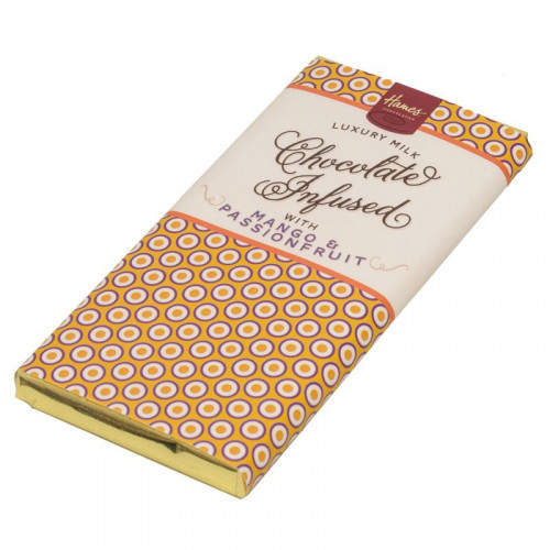 Infusion Chocolate Bar - Mango & Passionfruit Infused Milk Chocolate Bar 80g x Outer of 12