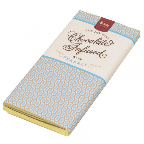 Infusion Chocolate Bar - Sea Salted Infused Milk Chocolate Bar 80g x Outer of 12