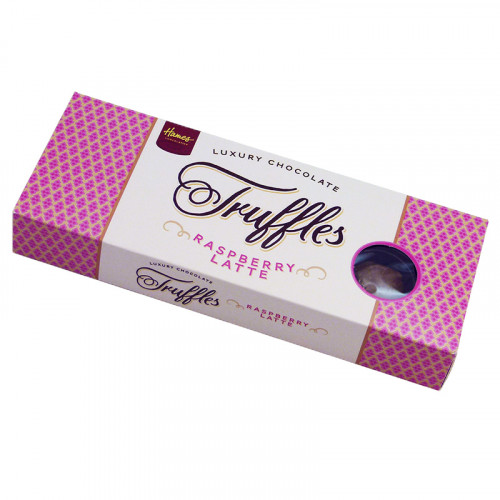 Luxury 9 Truffle - Raspberry Latte Truffles  x Outer of 12