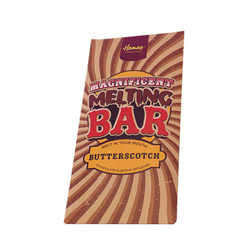 Magnificent Milk Melting Bar Infused with Butterscotch 80g x Outer of 12