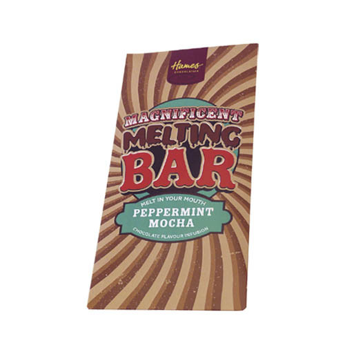 Magnificent Milk Melting Bar Infused with Peppermint Mocha 80g x Outer of 12