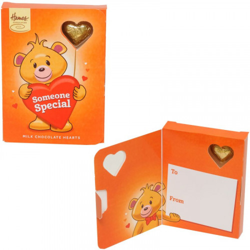 Sentiment Chocolate Heart Card - Someone Special  x Outer of 14