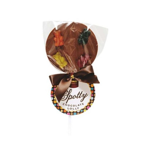 Hames - Luxury Spotty Lollies Milk Chocolate Lollipops Decorated with Teddies  x Outer of 18