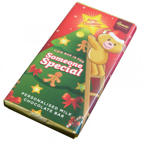 Sentiment - Xmas Personal 80g Milk Chocolate Bar - Someone Special x Outer of 6