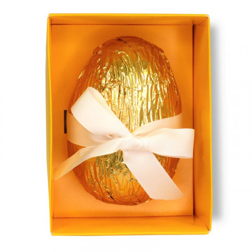 Promotional - Luxury Vegan friendly Creamy Mlk Chocolate Egg  Containing Mlk Chocolate Honeycomb Bunnies 240g