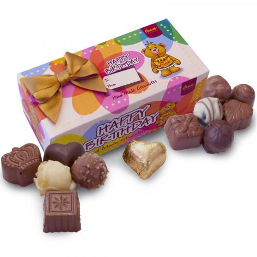 Sentiments Chocolate & Truffles Assortment Ballotin - Happy Birthday