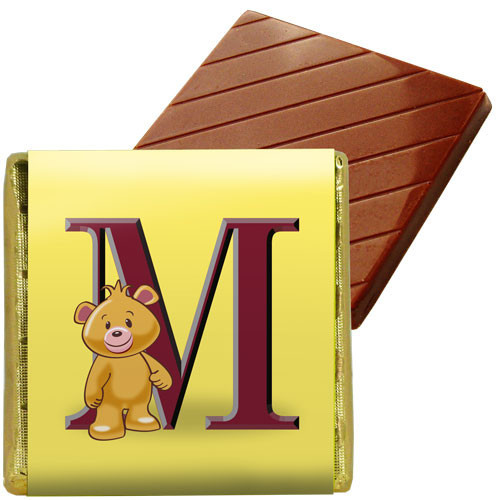 Box of 72 Alpha Bear Neapolitans + Sleeves - M