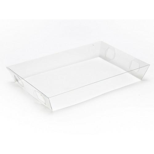 Clear Transparent Lid to Fit Small Hamper Box 200 x 128 x 31mm