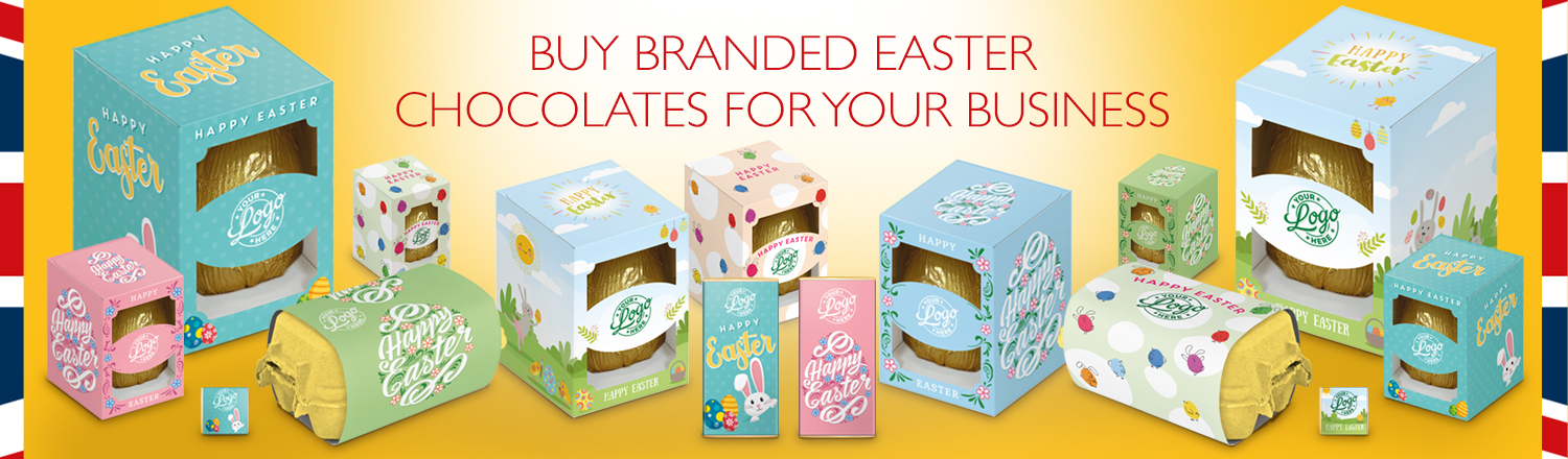 Business Branded Easter Chocolates